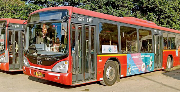 Smart buses for Smart City Bhubaneswar