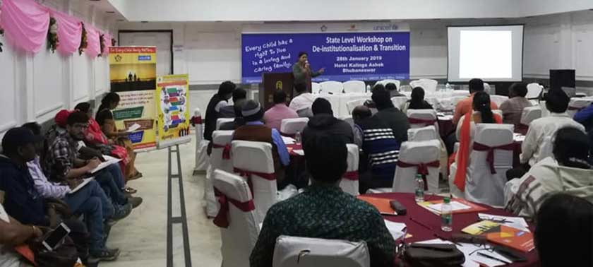 DE-institutionalization and Transition workshop was held in BBSR