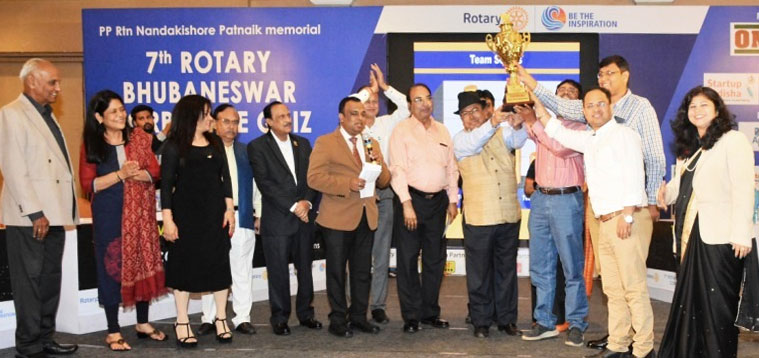 7th Rotary Bhubaneswar Corporate Quiz organized in the city