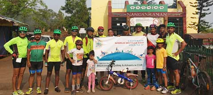 BBSR celebrated World Bicycle Day