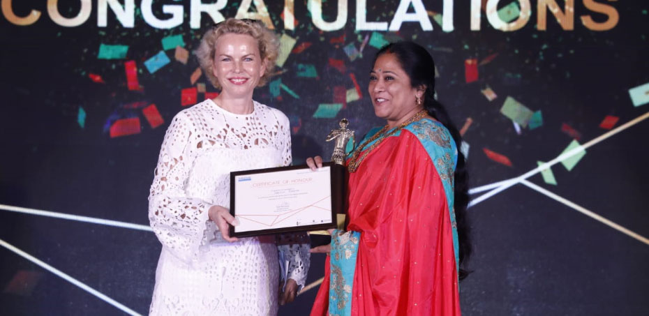 Sandvik India Gender award earned by Bhubaneswar Smart City Limited
