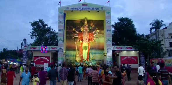 Eco-friendly, 46ft Ganesha idol catches everyone's attention
