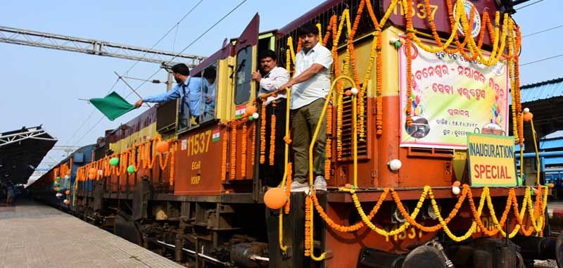 Sewa Express from BBSR-Nayagarh