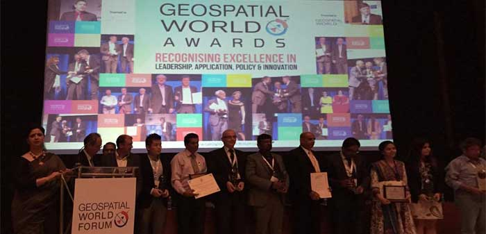 Odisha bags Geospatial Excellence Awards